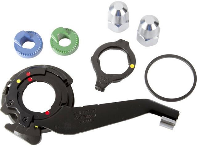 Shimano Alfine Componentes Buje 8-Vel SM-S7000-8 Vertical Dropout, negro